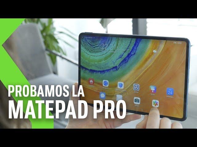 Huawei MatePad Pro PRIMERAS IMPRESIONES: la apuesta por el SOFTWARE PROPIO adaptado a TABLET