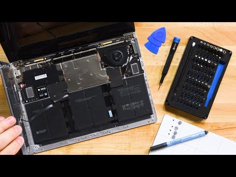 Surface Laptop 3 (13.5 inch) Teardown-Still the Least Repairable Laptop Ever???