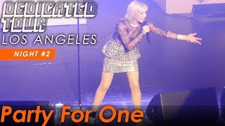 Carly Rae Jepsen    Party For One   LIVE @ The Wiltern   Los Angeles   8 11 19