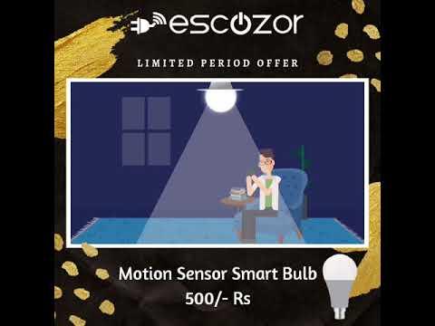 Motion Sensot Smart Bulb