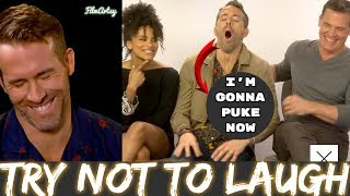 Deadpool 2: Ryan Reynolds Funny Moments - Try Not To Laugh 2018