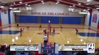 Caston Volleyball vs North Miami