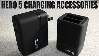 GoPro Hero 5/6/7 Black Charging Accessories | Must Have Accessories