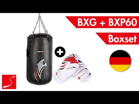 Sportstech Premium Boxsack-Set für Kinder - Boxsack und Boxhandschuhe