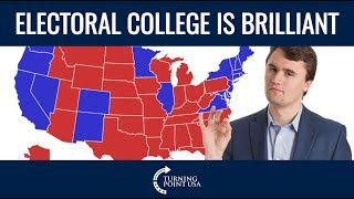 Charlie Kirk Defends The Electoral College