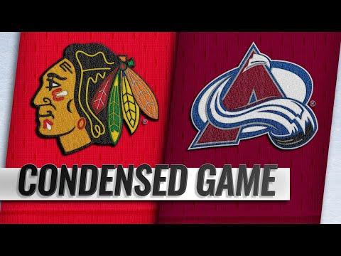 03/23/19 Condensed Game: Blackhawks @ Avalanche