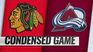 03/23/19 Condensed Game: Blackhawks @ Avalanche
