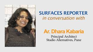 Designer Dhara Kabaria in conversation with Surfaces Reporter