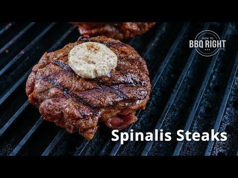 Spinalis Steaks – Ribeye Cap Steaks seared on PK Grill