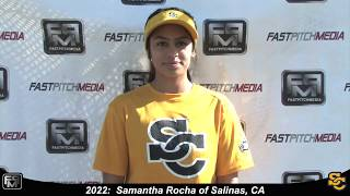 2022 Samantha Rocha Pitcher Softball Skills Video - Ca Suncats