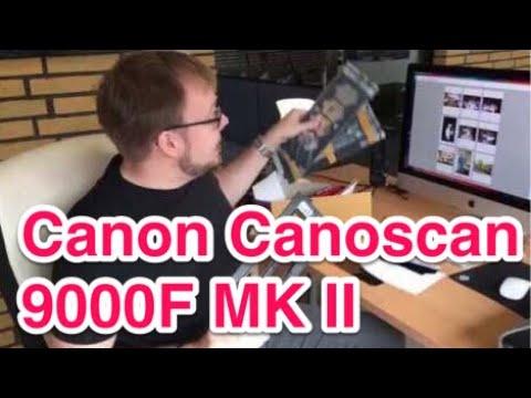 Scannen von Fotos, Dias und Negativen mit CanoScan 9000F Mark II - Kompletter Workflow