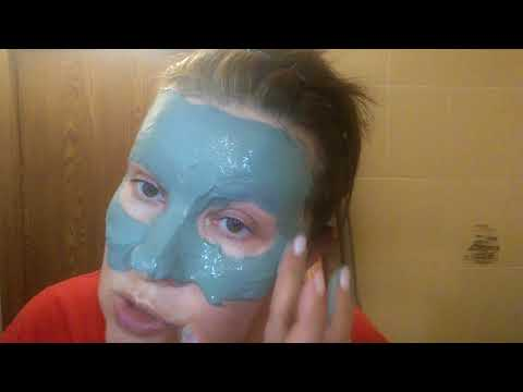 Маска  для лица из голубой глины. Детокс для кожи.