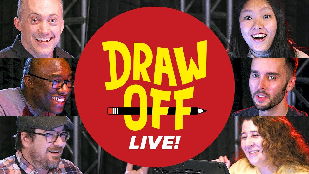 Draw-Off Live • We Draw Your Suggestions • Draw Off thumbnail
