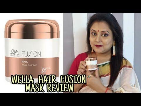 WELLA HAIR FUSION MASK REVIEW || Anuja supriya