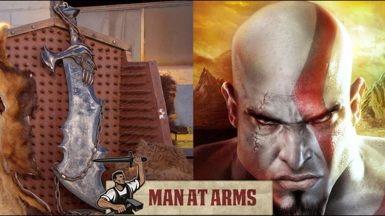 Kratos' Blades of Chaos Recreated by Man at Arms