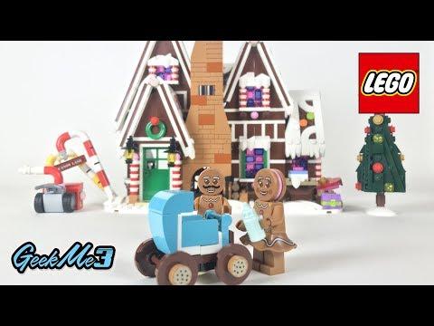 Vidéo LEGO Creator 10267 : La maison en pain d'épices