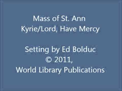 Mass of St  Ann | MusixFinest Liturgies