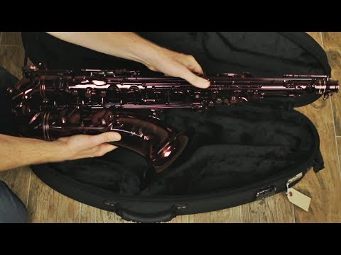 NEW Cannonball BLACK RUBY TENOR Saxophone!!! – BriansThing