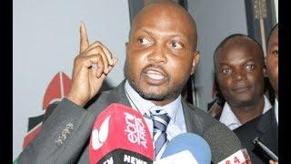 Moses Kuria warns NASA MPs against causing chaos in Parliament
