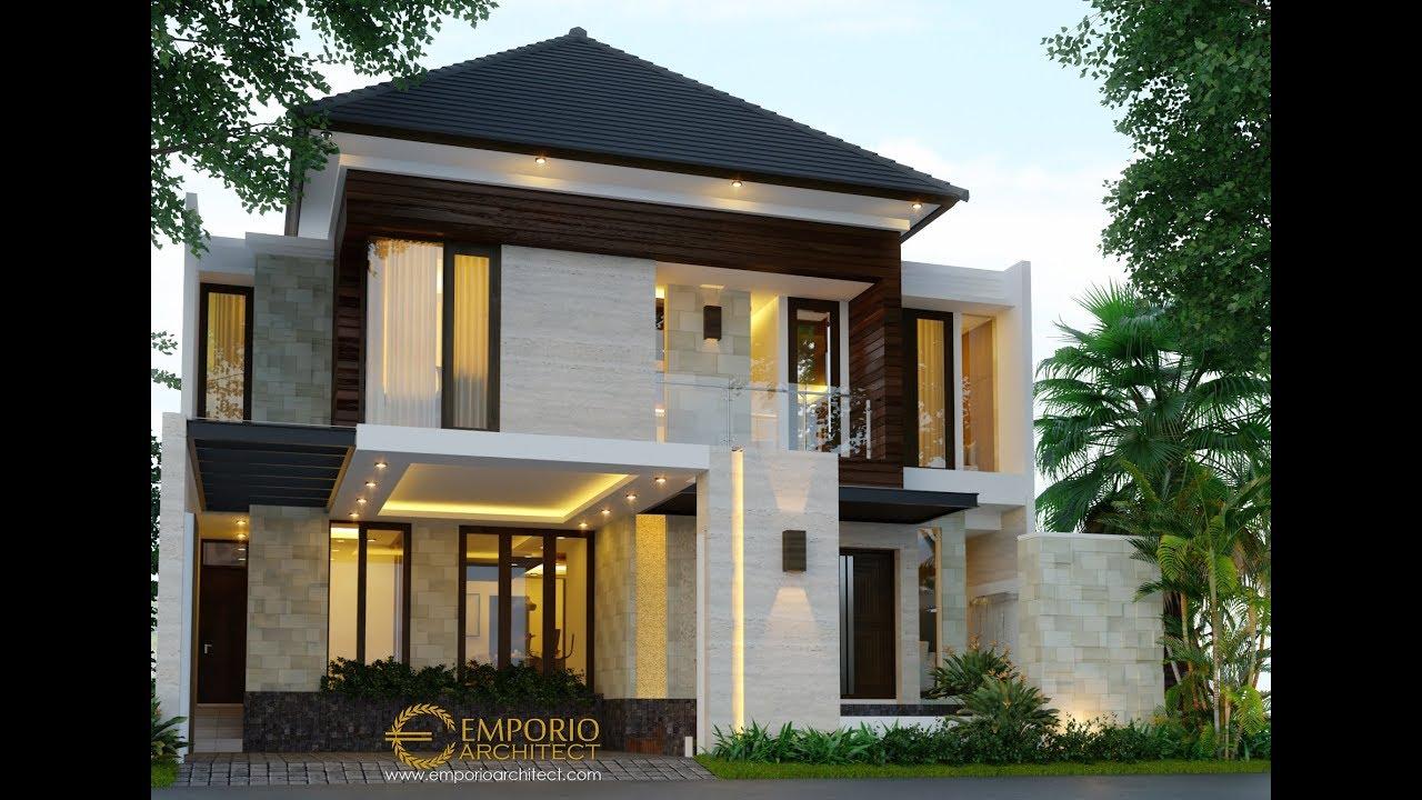 Video 3D Desain Rumah Modern 2 Lantai Bapak Agon - Jakarta
