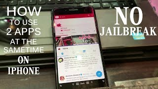 How To Use Two Apps at The Same Time On iPhone NO JAILBREAK