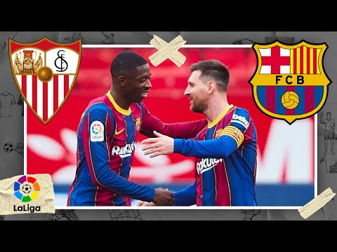 Sevilla vs Barcelona | LALIGA HIGHLIGHTS | 2/27/2021 | beIN SPORTS USA
