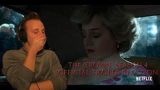 The Crown Season 4 Official Trailer REACTION