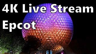 🔴4K Live Stream - Epcot Walk Out!!  Surprise!  4K Walt Disney World Live Stream!
