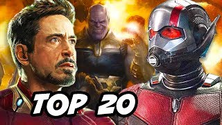 Ant-Man and The Wasp TOP 20 Avengers Easter Eggs and References Explained