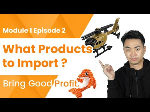 , title : 'What Products to Import from China to Make Good Money? |Module 1 Ep2