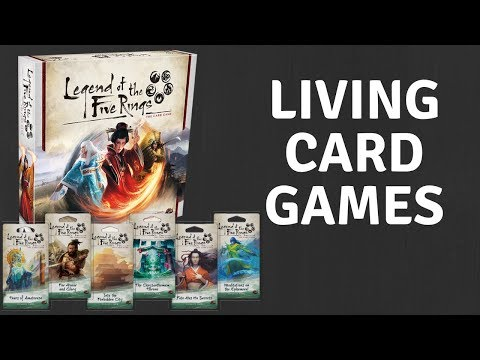 Legend Of The Five Rings- A Perfect Alternative To Magic: The Gathering