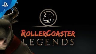 RollerCoaster Legends – Launch Trailer | PS VR