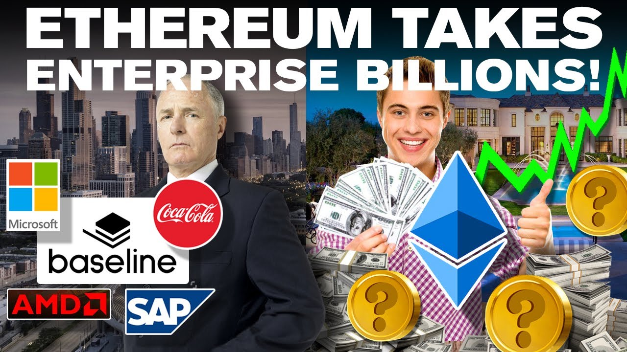#Ethereum #ETH Enterprise BILLIONS Set to Deploy on ETHEREUM + 3 ALTCOINs!