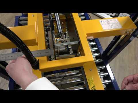 CT 103 SD: Align the tape head