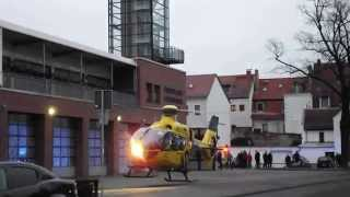 preview picture of video 'ADAC Christoph 61 D-HLFR  am 10. 02. 2015 in Torgau'