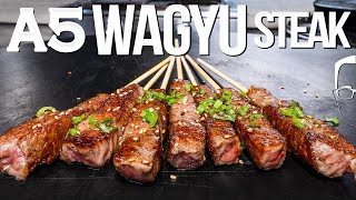 $200 A5 WAGYU STEAK – WHAT TO DO (AND NOT DO!) | SAM THE COOKING GUY 4K