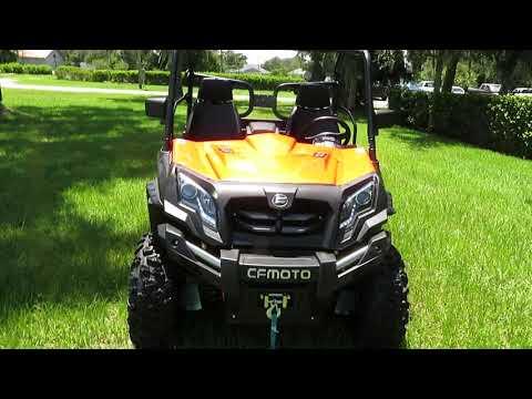 2021 CFMOTO UForce 800 in Sanford, Florida - Video 1