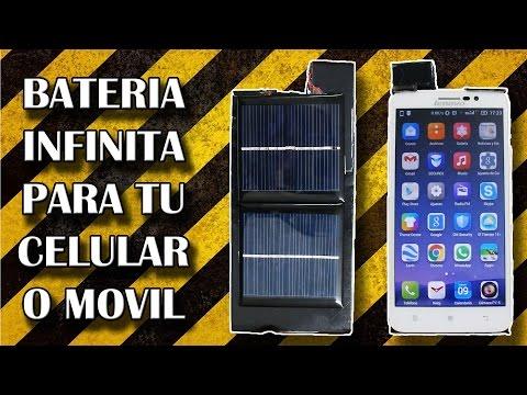 Bateria Infinita Para Tu Celular o Movil / Cargador Solar (Experimentar en casa)