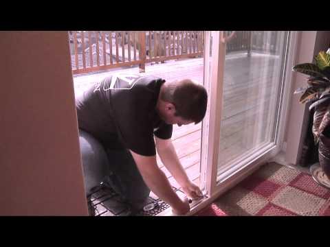 "Ideal Pet VPPA Vinyl Pet Patio Door with Single Pane Glass 80"" - Medium Video"