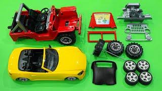 Learn to build car toys - Kid Studio