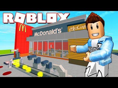 Roblox | XÂY DỰNG NHÀ HÀNG MCDONALD'S - McDonald's Tycoon | KiA Phạm