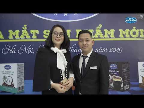 SỰ KIỆN RA MẮT SẢN PHẨM MỚI MACCACA THÁNG 1 2019