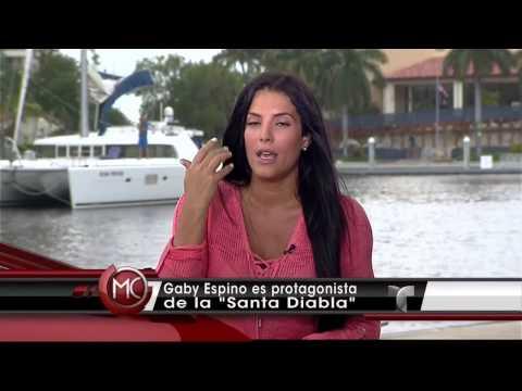 Santa Diabla | Gaby Espino regresa | Telemundo