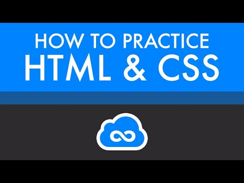 How To Practice HTML & CSS   Learn Web Development Now
