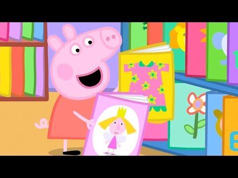 Свинка Пеппа на русском все серии подряд   Библиотека   Мультики видео