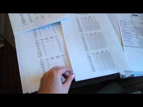 Организация и хранение - Квитанции и чеки оплаты комунальных услуг