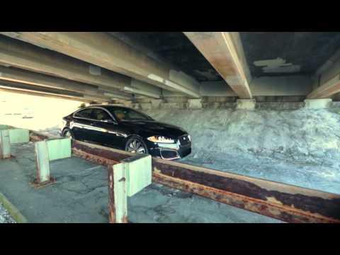 Jaguar XFR on Amani Forged Delo Wheels