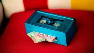 The SECRET Money Puzzle Box Challenge!!