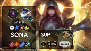 Sona Support vs Bard - KR Master Patch 10.9