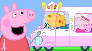 Peppa Pig Official Channel   Peppa Pig Runs an Ice Cream Van